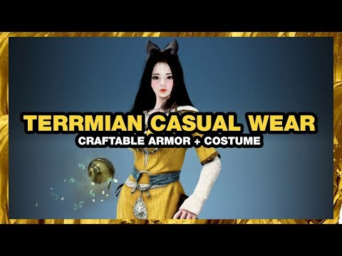 BLACK DESERT ONLINE Terrmian Casual Wear CRAFTABLE COSTUME