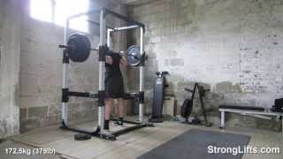 379lb Squat double-fail | StrongLifts