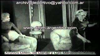 """ARCHIVO DIFILM OBRA """"CUATRO ESCALONES ABAJO"""" CON ELENA LUCENA Y JUAN JOSE MIGUEZ (1959)"""