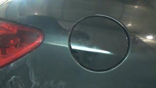 Как снять и установить люк бензобака. Peugeot 307.