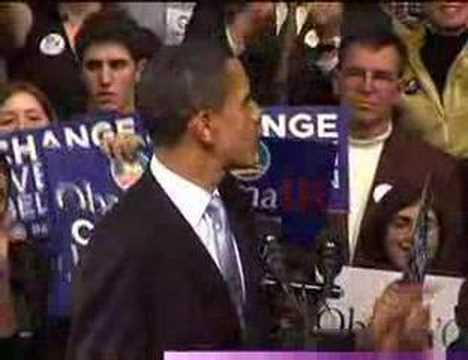 Thumbnail: Barack Obama: New Hampshire Speech (Yes We Can)