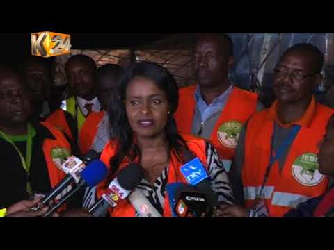 IEBC assures Kenyans of their readiness for the Oct 26th repeat polls