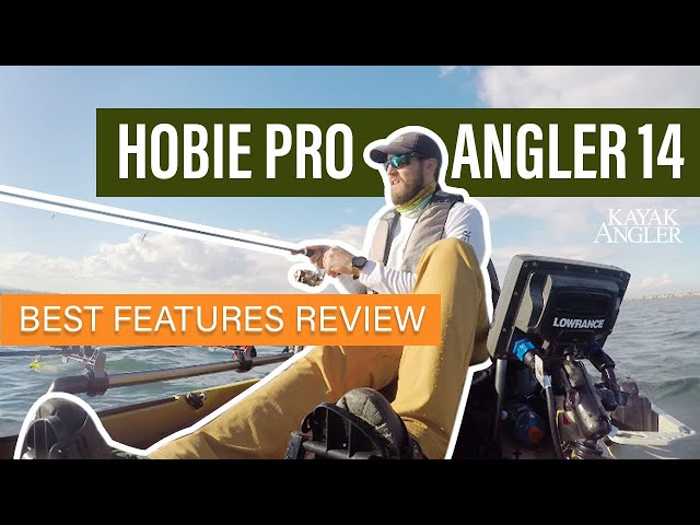 Hobie Pro Angler 14  🎣 Fishing Kayak 📈 Specs & Features Review and Walk-Around 🏆