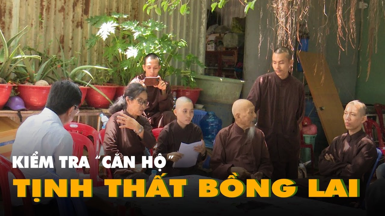 Kiểm tra hành chính căn hộ 'tịnh thất Bồng Lai' ở Long An