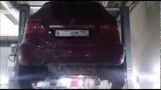 Катализатор.Замена катализатора Mercedes-Benz B-Класса. Москва.(, 2013-09-20T05:30:13.000Z)