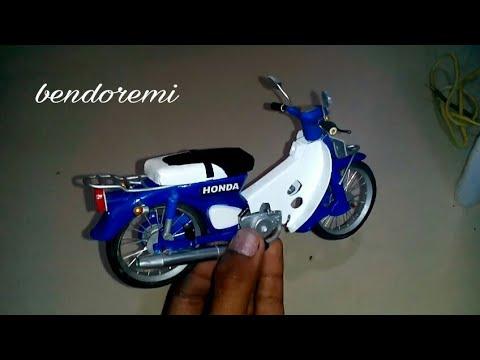 Membuat Miniatur Motor C70 Standart Part Installing Youtube