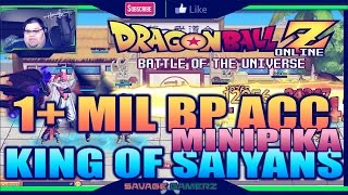 Dragonball Online - 1.1MIL BP, KING Of Saiyans MiniPIKA!