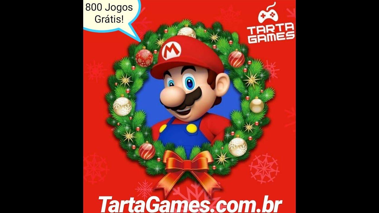 Pack de Natal Grátis: Sistema Completo +800 Jogos de Super