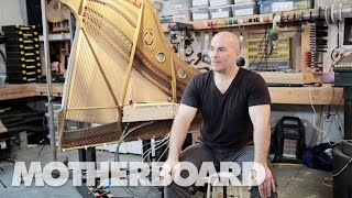 How to Build a Magnetized Piano Harp: Sound Builders