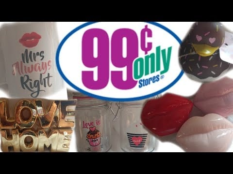 AMAZING 99 CENT ONLY STORE HAUL!!!