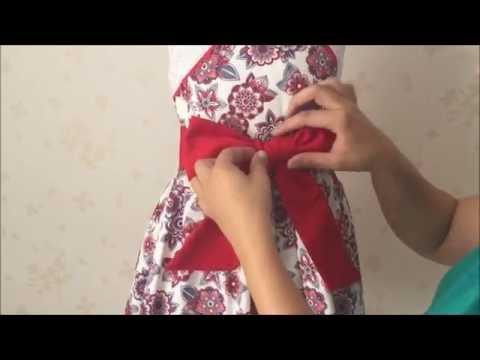 Cómo Hacer Un Lazo Para Vestido