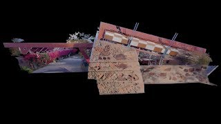 Leica BLK360 - Frank Lloyd Wright. Taliesin West Point Clouds