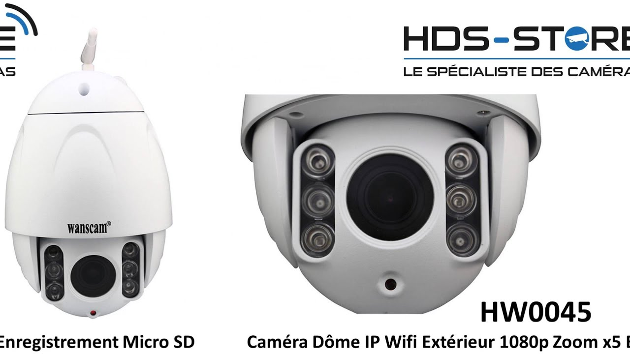 Camera Ip Exterieur Orientable Presentation Video Hw0045 Camera Dome Ip Extérieur Wifi