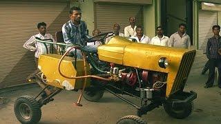 Tractor From Scrap | कबाड से जुगाड: एक किसान के बेटे ने ट्रैक्टर बनाया - Quint Hindi