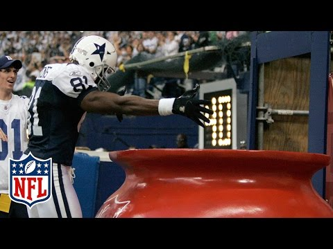 Terrell Owens & The Original Salvation Army Bucket Touchdown Celebration | NFL