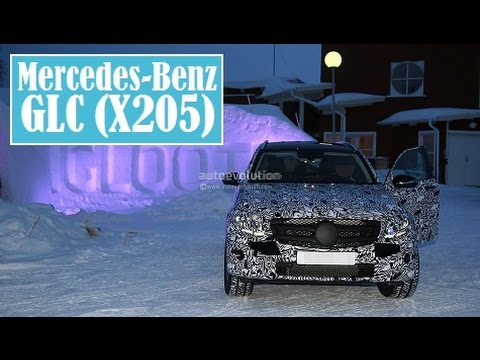 mercedes benz glc x205 spied cold winter testing in. Black Bedroom Furniture Sets. Home Design Ideas