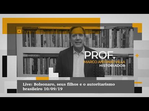 Live: Bolsonaro, seus filhos e o autoritarismo brasileiro 10/09/19
