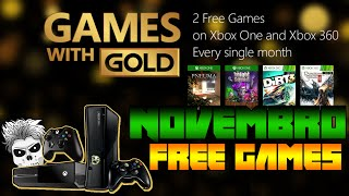 Games With Gold Novembro 2015 Free Games (XOne/X360)