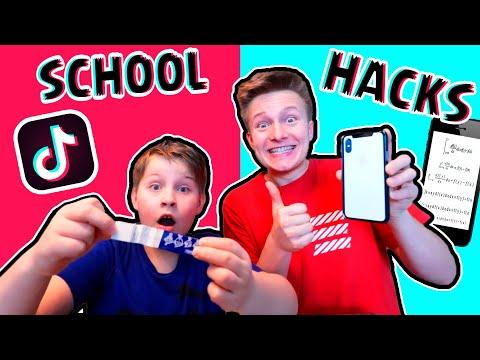 TikTok Viral Schul Live Hacks 🤣 TipTapTube @ASH @Echtso @marieland @ADDI-ONLINE