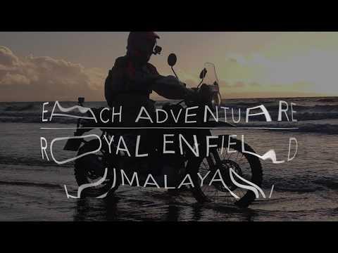 Royal Enfield Himalayan -beach Adventure