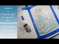 {Adult Coloring Tutorial} Sea Beacon-Jasmine Becket Griffith-Preparing and Masking your page