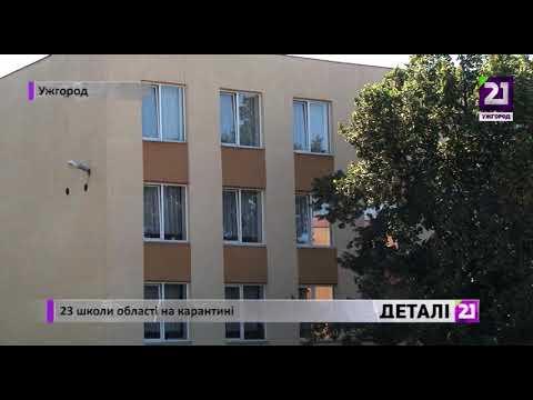 21 channel: 23 школи області на карантині