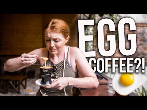 Trying EGG COFFEE In Vietnam!