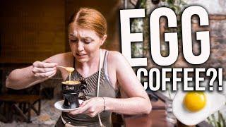Trying EGG COFFEE in Vietnam!