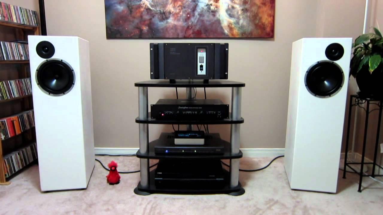DIY speakers - just tweaked the crossover - YouTube on diy home subwoofer 15, diy home theater, diy home entertainment cabinets, diy bookshelf speaker, diy home projects, diy home subwoofer plans,