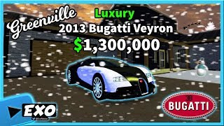 Greenville Roblox | BUGATTI VEYRON TOP SPEED!!