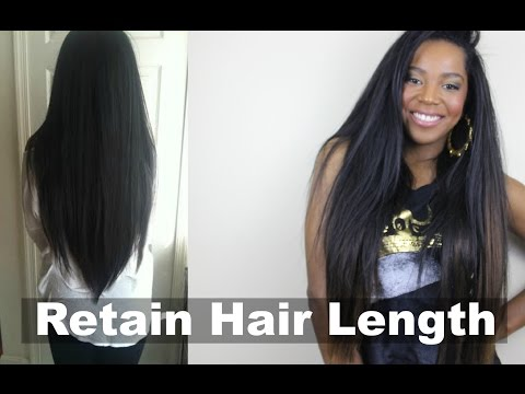 How To Retain Your Hair Length | Natural Hair