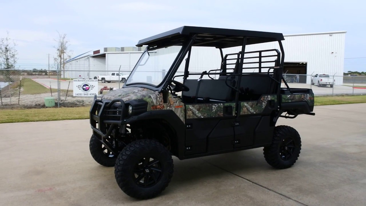 18 699 Kawasaki Mule Pro Fxt Eps Camo With Top