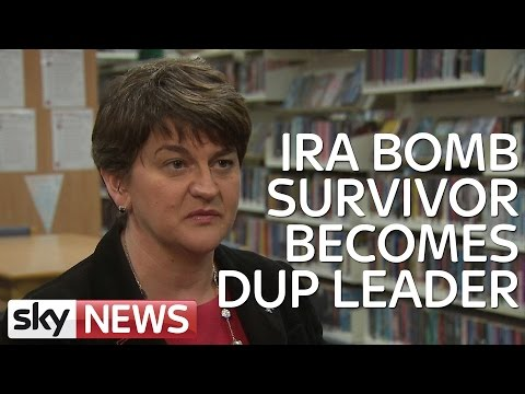 IRA Bomb Survivor Shares Power With Martin McGuinness