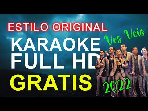 Vos Veis - El Farolito - KARAOKE