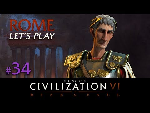 Civilization 6 - Rome Let's Play // RISE AND FALL // TSL Europe - Episode #34 [Pre-stream Finale]