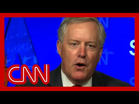 Mark Meadows pressed on Trump's false claims of mail-in voter fraud