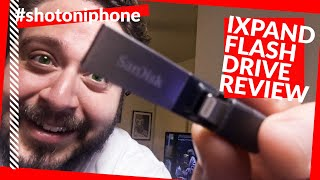 SanDisk iXpand Flash Drive for iPhone YouTube Creator Workflow