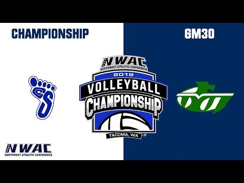 2018 Volleyball Championship Match - GM30 Spokane vs. Highline