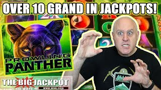 🎰BIG WIN$ on Prowling Panther Slots! 🎰 | The Big Jackpot