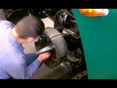 Installing heavy duty brakes