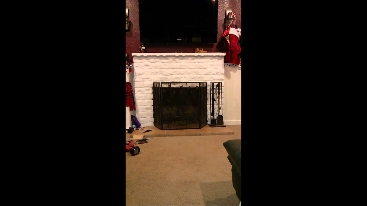 Fireplace Design baby proof fireplace screen : Child proofing the fireplace - YouTube