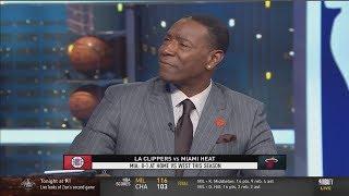 Sam Mitchell: Kawhi,Paul George will lead Clippers pass Heat tonight ?