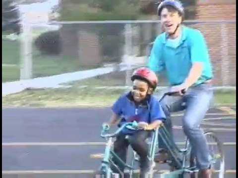 Kids Tandem Bike Trainer Youtube