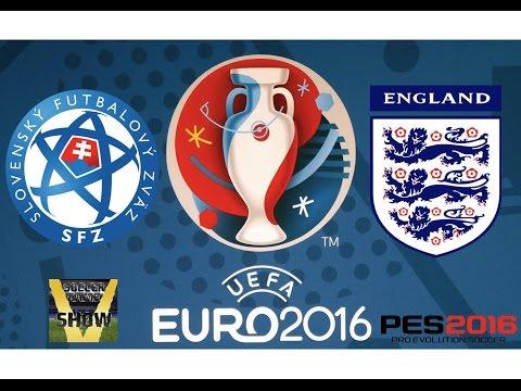 Slovaquie - Angleterre [PES 2016] | UEFA EURO 2016 (Groupe B - 3ème Journée) | CPU Vs. CPU
