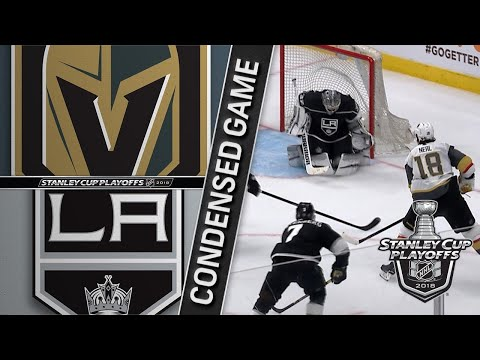 04/15/18 First Round, Gm3: Golden Knights @ Kings
