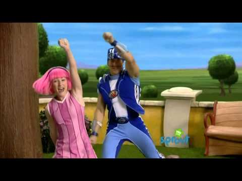 Lazy Town - Bing Bang (Once Upon A Time)