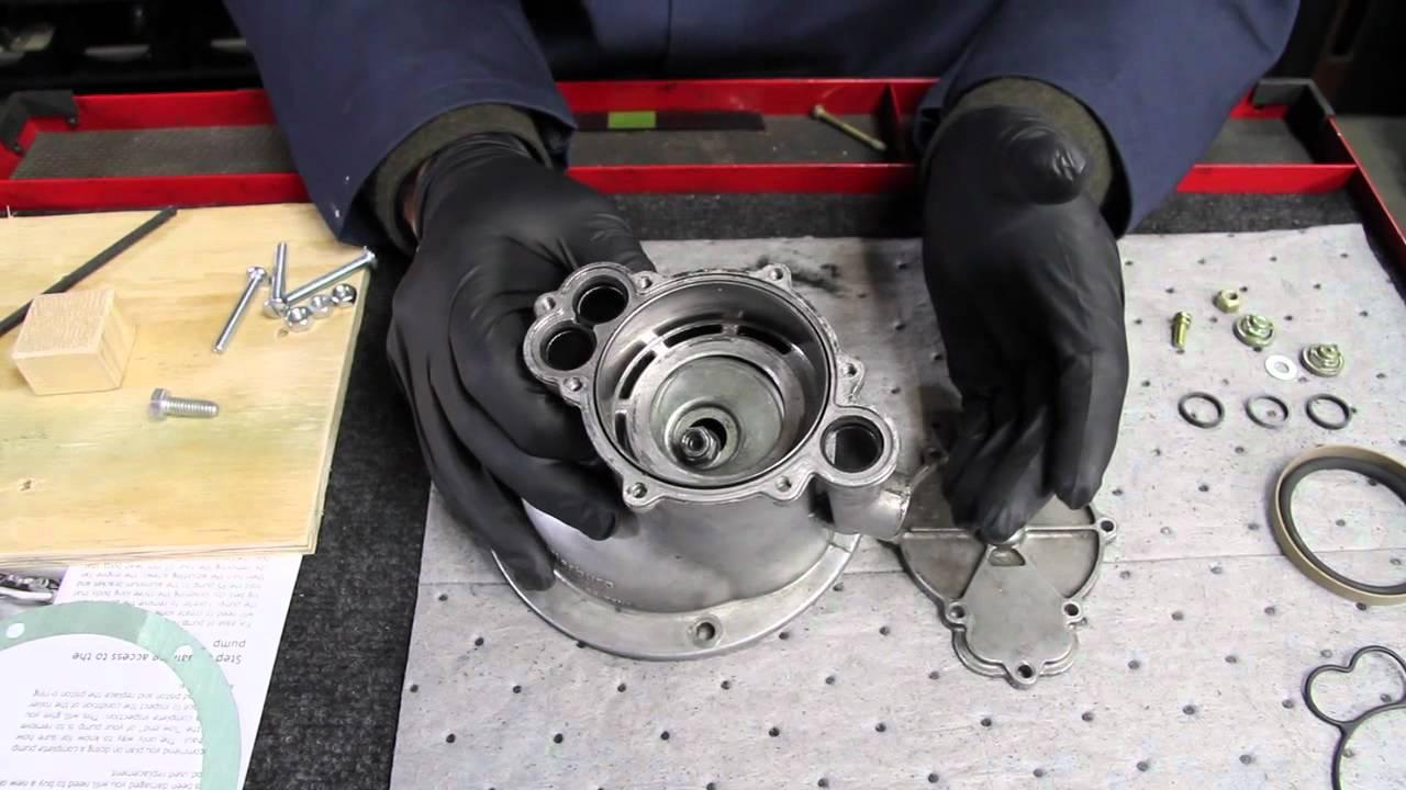 1980 to 1985 mercedes diesel vacuum pump challenges and overhaul kit components [ 1280 x 720 Pixel ]