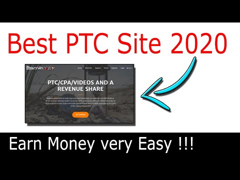 Best PTC Sites With High Pay |New 2020| PTC Sites Litecoinads
