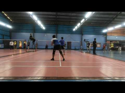 Badminton 2018 Dual meet ACN vs Globe Game 4