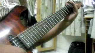 Abhogi Varnam on Guitar (Evari Bodhana)